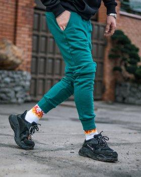 Спортивные штаны Over Drive Jog бирюзовые