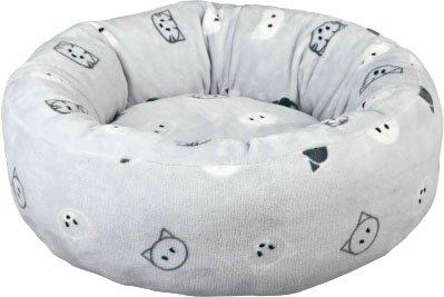 Лежак для собак Trixie Mimi 50 см Сірий в мордочки (4011905374871)