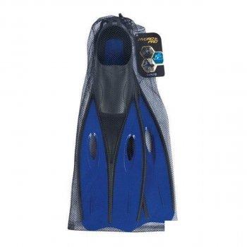 Спортивные ласты для плаванья BestWay 27023 Размер L (40-42) с закрытой пяткой Синие