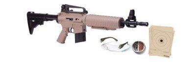 Гвинтівка пневматична Crosman 177КТ (tan)
