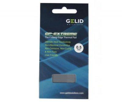 Термопрокладка Gelid GP Extreme 40 мм х 80 мм х 0.5 мм 12w/mk сірий TPGP01A