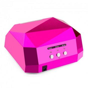Ультрафиолетовая лампа для сушки ногтей LED SUN 36W UV LED Lamp PINK (00621)