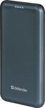 УМБ Defender ExtraLife 10000F, 10000 mAh Blue (83663)