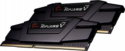 Оперативна пам'ять G.Skill DDR4-3200 65536MB PC4-25600 (Kit of 2x32768) Ripjaws V Black (F4-3200C16D-64GVK)