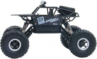 Автомобіль на р/к Sulong Toys 1:18 Off-road Crawler Max Speed Матовий чорний (SL-112RHMBl)