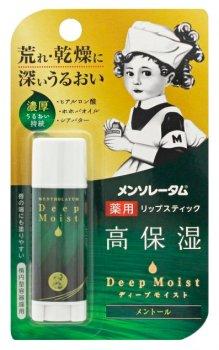 Бальзам для губ гиалуроновой Mentholatum Deep Moist LipBalm Menthol 4,5 мл