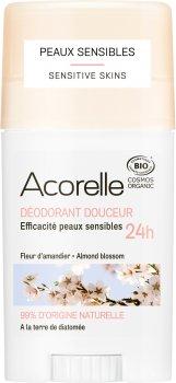 Дезодорант гелевый Acorelle органический Ароматный миндаль 45 г (3700343040868)