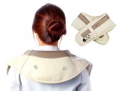 Массажер Cervical ударный Massage Shawls для шеи и плеч SKL11-187048