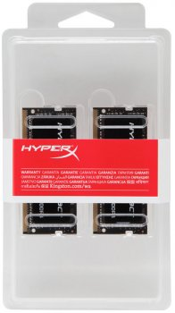Оперативна пам'ять HyperX SODIMM DDR4-2666 16384MB PC4-21300 (Kit of 2x8192) Impact (HX426S15IB2K2/16)
