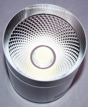 Світлодіодний світильник Feron AL542 10w білий-хром