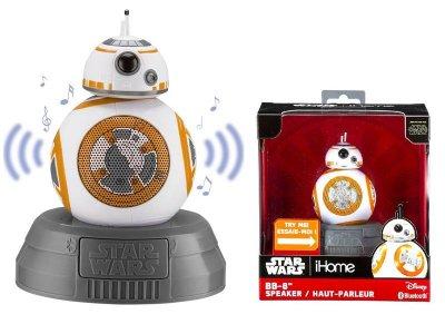 Портативна акустична система eKids iHome Disney Star Wars BB-8 Droid Wireless (LI-B67B7.FMV6)