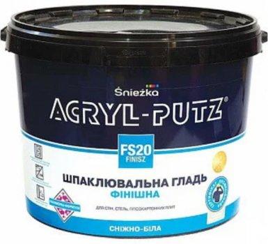 Шпаклівка акрилова для внутрішніх робіт Sniezka Acryl-Putz Фініш 27 кг (відро) Біла (IG66731)
