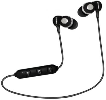 Наушники Crown CMBE-502 Bluetooth Black