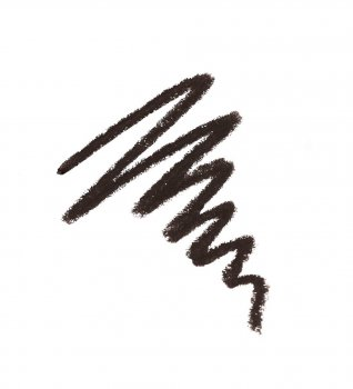 Стійкий пудровий олівець для брів Luxvisage тон 104 Чорний (4811329018425)