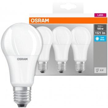 Набір світлодіодних ламп OSRAM BASE A60 14 W 4000 K E27 3 шт. (4058075819559)