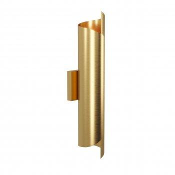 Бра для вітальні, спальні, офісу, кафе, кухні, передпокої Suvij 14353 латунь золотистий PikArt