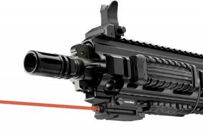 Лазерний целеуказатель LaserMax UNI-MAX карабін/рушницю на Weaver/Picatinny (червоний)