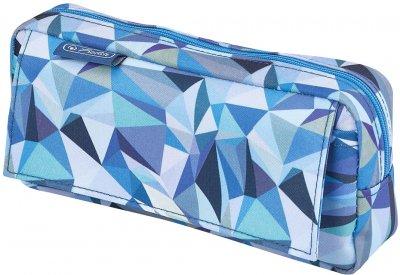 Пенал Herlitz Pockets с карманом Wild Animals Blue (50026593)