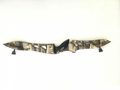 Лук рекурсивний Jandao C1, 70 17,2 кг Правобічний Камуфляж камуфльований алюмінієва рукоятка, поліровані плечі (С1 Next G1)
