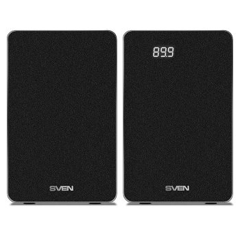 Акустична система ( колонки ) SVEN SPS-710 (black)2x20 Вт, Bluetooth, USB flash, SD, ДУ (23597)