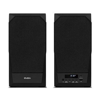 Акустична система ( колонки ) SVEN MC-20 (black) 2x45 Вт, Bluetooth, USB flash, SD, FM, ДУ (16698)