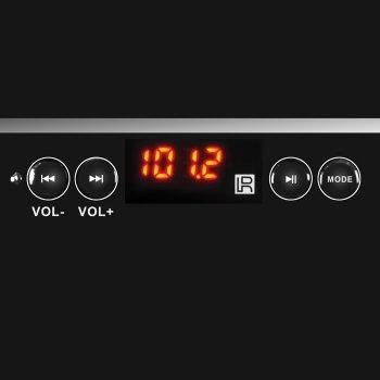 Акустическая система ( колонки ) SVEN MS-1820 (black) 2.1 18W Woofer + 2*11W speaker, FM, SD, USB, LED display, (11730)