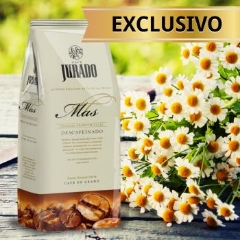 Кофе в зернах Jurado Descafeinado Tueste Natural Jurado MAS 1 кг