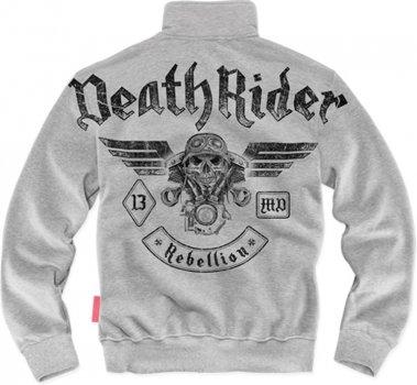 Толстовка Dobermans Aggressive Death Rider BCZ128GY Сіра