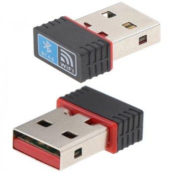 WiFi адаптер со встроенным Bluetooth 4.0 в одном корпусе mini REALTEK RTL8723B