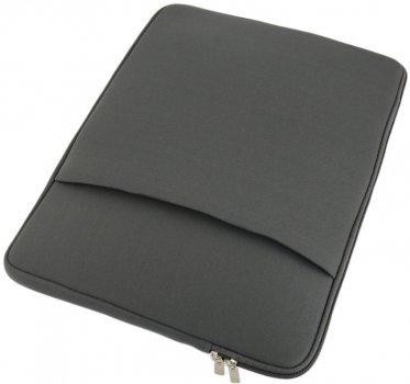 """Чехол для ноутбука Traum 15"""" с дополнительным чехлом для БП 7112-26 Cерый (4820007112263)"""