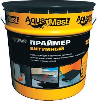 Праймер гідроізоляційний ТехноНИКОЛЬ AquaMast бітумний, 18 л (IG7000715)