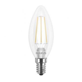 Лампа Maxus LED C37 FM-C 4W 4100K 220V E14 (11743004)