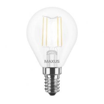 Лампа Maxus LED G45 FM 4W 4100K 220V E14 (11743151)