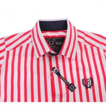 Рубашка для мальчика Breeze BREEZE G-321 червоний/білий