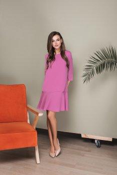 Платье Lilove 034-4 Розовое