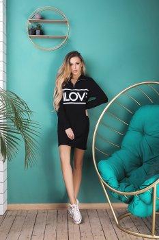 Платье Lilove 043-2 Черное