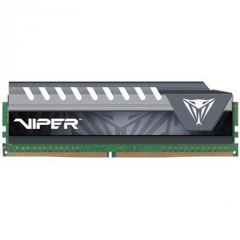 Оперативна пам'ять Patriot Viper DDR4 V4 Elite 8GB 2400 MHz CL16 DIMM Black/Grey (PVE48G240C6GY)