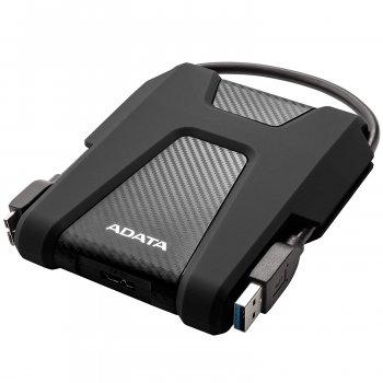 """Жорстку зовнішній диск A-DATA USB 3.2 Gen1 HD680 2TB 2,5"""" Чорній (AHD680-2TU31-CBK)"""