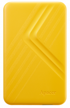 """Жорсткий диск зовнішній Apacer USB 3.2 Gen1 AC236 1TB 2,5"""" Жовтий (AP1TBAC236Y-1)"""