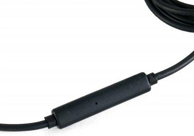 Кабель ExtraDigital AUX - AUX Sound Control 1.2 м Черный с красным (KBA1774)