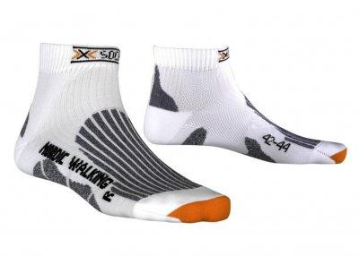 Носки для бега и ходьбы X-BIONIC Nordic Walking белые