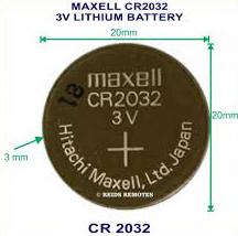 Батарейка литиевая (таблетка) Maxell Japan СARD CR2032 5 шт (B-JPN-CR2032-C5)