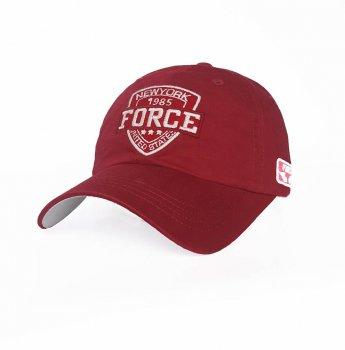 Мужская бейсболка Force Sport Line 3746 57-60 цвет красный