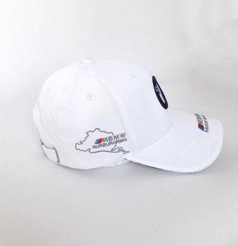 Бейсболка с логотипом авто BMW Sport Line 3704 57-60 цвет белый