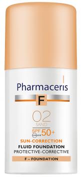 Корректирующий защитный тональный флюид Pharmaceris F SPF50+ Песок 30 мл (5900717154216)