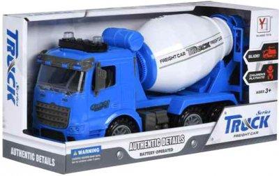 Машинка Same Toy Truck инерционная Бетономешалка Синяя (98-612Ut-2)