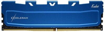 Оперативна пам'ять Exceleram DDR4-2400 16384MB PC4-19200 Blue Kudos (EKBLUE4162417A)