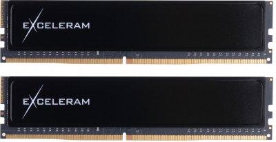 Оперативна пам'ять Exceleram DDR4-2400 32768MB PC4-19200 (Kit of 2x16384) Black Sark (ED432247AD)