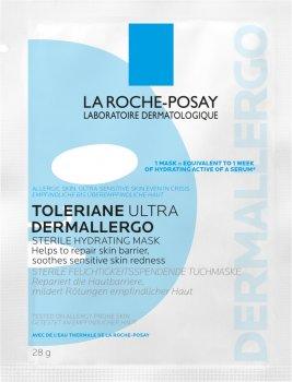 Стерильная увлажняющая тканевая маска La Roche-Posay Toleriane Ultra Dermallergo для гиперчувствительной и склонной к аллергии кожи лица 28 г (3337875693806)