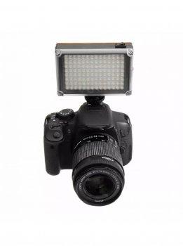Накамерный свет лампа Ulanzi 112LED для смартфона экшн камеры фотоаппарата видеокамер оригинал (380_23)